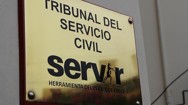 Tribunal del Servicio Civil de SERVIR declara infundada apelación de Edgar Alarcón