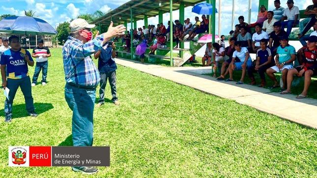 MINEM viabiliza inversión social a favor de las  comunidades de Saramurillo y San José de Saramuro