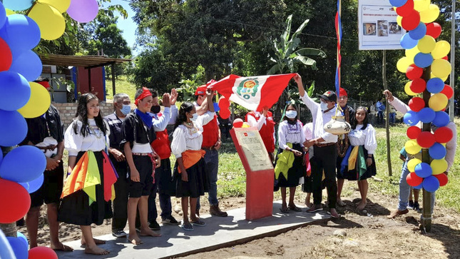 San Martín: Ministerio de Vivienda inaugura obra de agua y saneamiento rural en Lamas