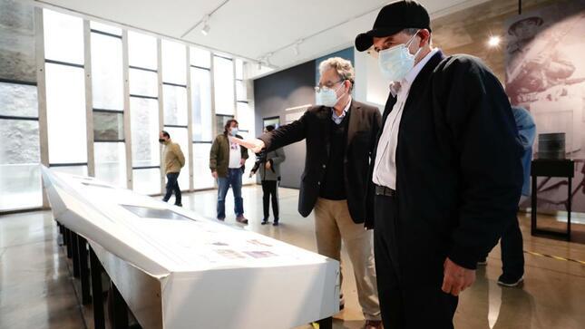 Ministro de Cultura visitó las instalaciones del Lugar de la Memoria, la Tolerancia y la Inclusión Social - LUM