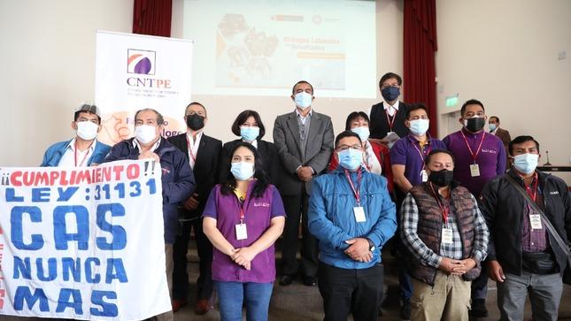 """El MTPE inicia: """"Diálogos Laborales con Resultados""""  espacio de atención a la clase trabajadora"""