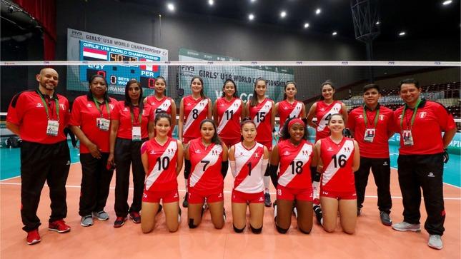 Perú logra su primer triunfo en Mundial México 2021 de voleibol