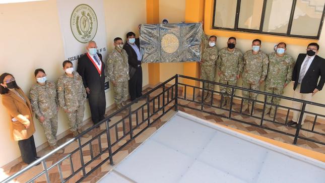 Visita de trabajo al Juzgado y Fiscalía Militar Policial N°15 de Ayacucho