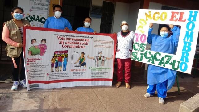 Ministerio de Cultura intensifica difusión de información sobre efectividad de la vacuna contra la COVID-19 en localidades indígenas