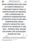 Vista preliminar de documento Convocatoria CAS N° 004-2021-GOREMAD/GSR-MANU