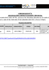 Vista preliminar de documento Comunicado N° 71: Adjudicación Contrato Docente EBR Inicial