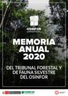 Vista preliminar de documento Memoria anual del Tribunal Forestal y de Fauna Silvestre del OSINFOR – 2020