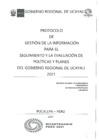 Vista preliminar de documento Protocolo De Gestion De La Informacion Para El Seguimiento Y La Evaluacion De Politicas Y Planes Del Gobierno Regional De Ucayali 2021