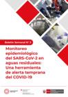 Vista preliminar de documento Boletín Semanal Nº 3. Monitoreo epidemiológico del SARS-CoV-2 en aguas residuales
