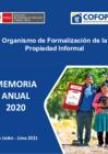 Vista preliminar de documento Memoria Institucional 2020