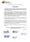 Vista preliminar de documento Pronunciamiento de La Coordinadora Nacional de Gremios de Criadores de Camélidos Sudamericanos