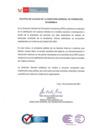 Vista preliminar de documento Política de Calidad de la Dirección General de Promoción Económica