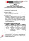 Vista preliminar de documento Servicio integral de envío de libros por vía aérea para la participación de Perú en la 35a Feria Internacional del Libro de Guadalajara 2021.