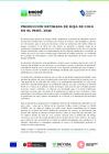 Vista preliminar de documento Producción estimada de hoja de coca, 2020