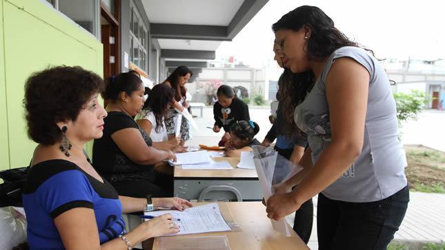 Colegios están obligados a publicar  el número de vacantes disponibles