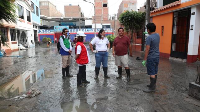 Gobierno declara en emergencia ambiental zona del aniego en SJL y dispone acciones para proteger salud de las personas