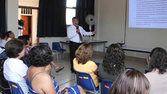 Inician inscripción para capacitar a docentes de institutos