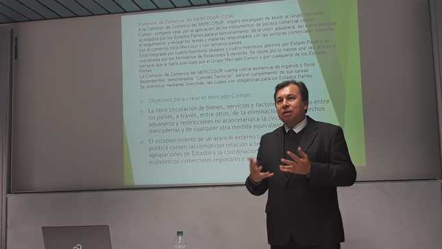 Conferencia sobre la Alianza del Pacífico y el Mercosur en la Universidad Ludwig Maximilians de Múnich (lmu)