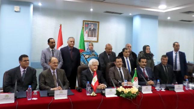 Celebran ceremonia de instalación del Grupo de Amistad parlamentario argelino-peruano