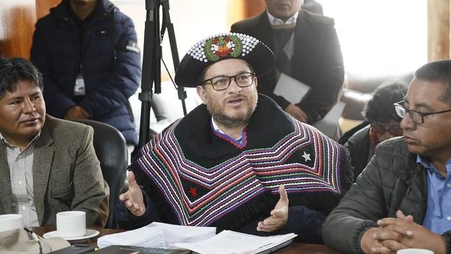 Ministro Vásquez en Huancavelica: se impulsarán actividades de prevención para reducir afectación por lluvias
