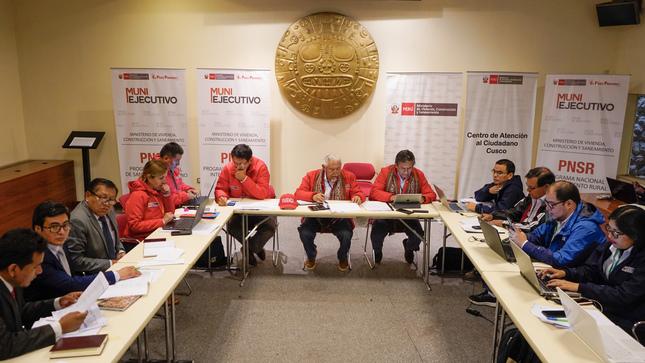Ministerio de Vivienda transfirió S/ 83 millones para 31 proyectos de saneamiento en Cusco