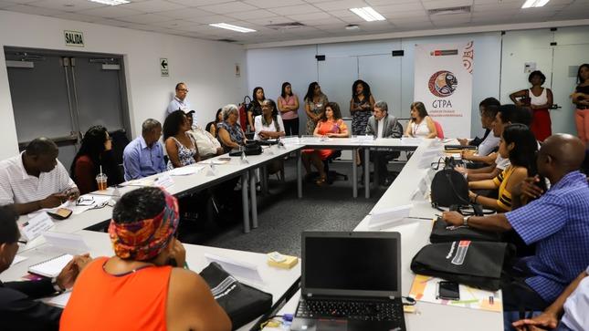 Ministro de Cultura participa de la décima reunión del Grupo de Trabajo con Población Afroperuana