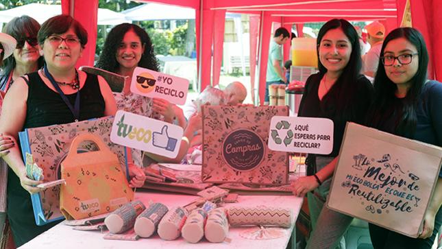 Minsa realizó Primera Feria de Ecoeficiencia para promover consumo de productos que favorezcan el cuidado del planeta
