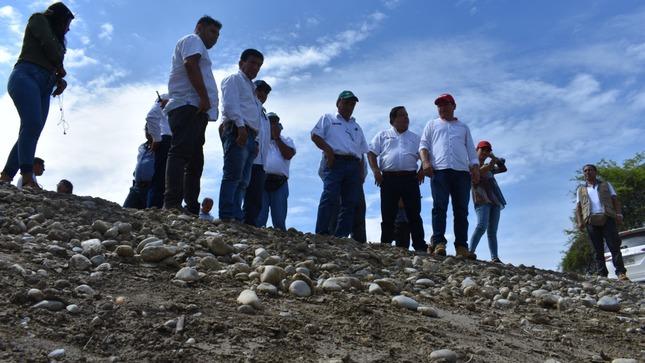 Minagri intervendrá puntos críticos en el río Piura a fin de evitar inundaciones