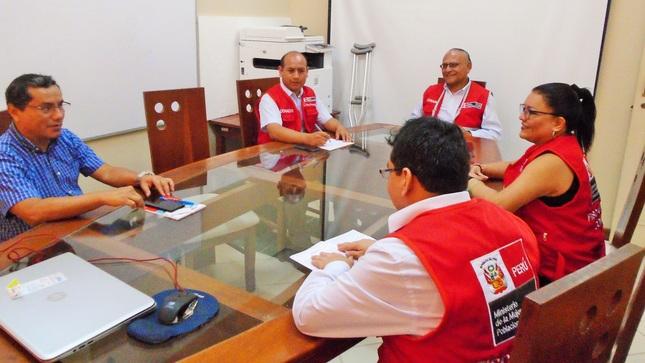 Conadis realizó supervisión del cumplimiento de la Ley N° 29973 en Moyobamba
