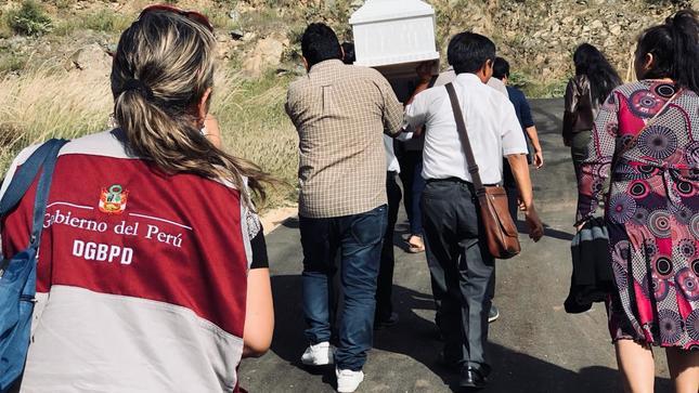 Huánuco: MINJUSDH restituye restos humanos de dos víctimas del periodo de violencia 1980-2000