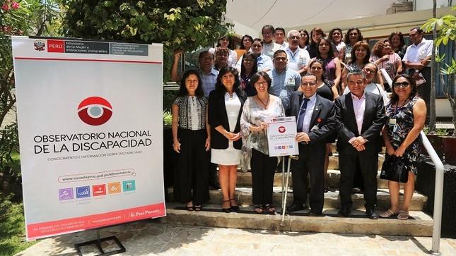 CONADIS presentó nuevo Observatorio Nacional de la Discapacidad