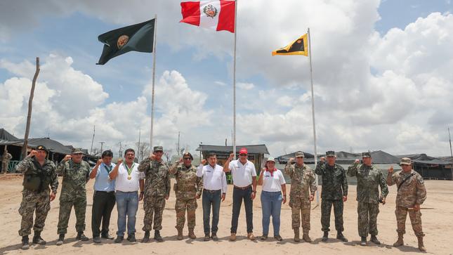 Fuerzas Armadas y PNP inician fase de consolidación del plan contra minería  ilegal en Madre de Dios 45d676f2c23