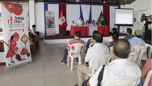 """Ministra Sylvia Cáceres: """"Necesitamos seguir articulando esfuerzos con autoridades de Loreto para beneficiar a ciudadanos en situación de vulnerabilidad"""""""