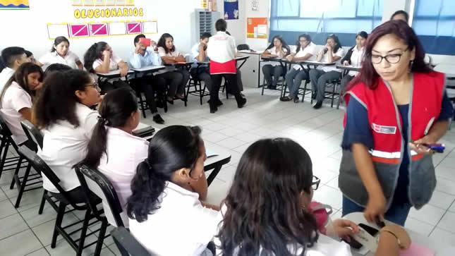 DRELM desarrolla taller de soporte socioemocional en colegio Trilce