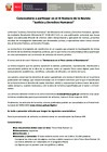 """Ver informe Convocatoria a participar en el III Número de la Revista """"Justicia y Derechos Humanos"""""""