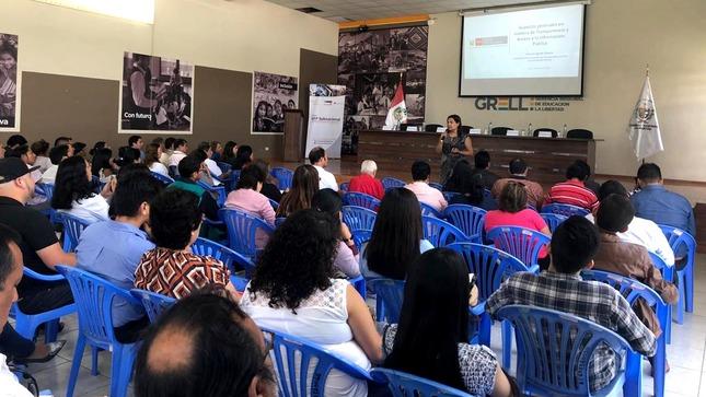 ANTAIP brindó charlas en regiones San Martín, La Libertad y Lambayeque sobre transparencia y acceso a la información pública