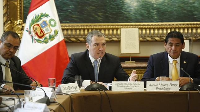 """Jefe del Gabinete: """"Las consultorías son indispensables para el funcionamiento del Estado"""""""