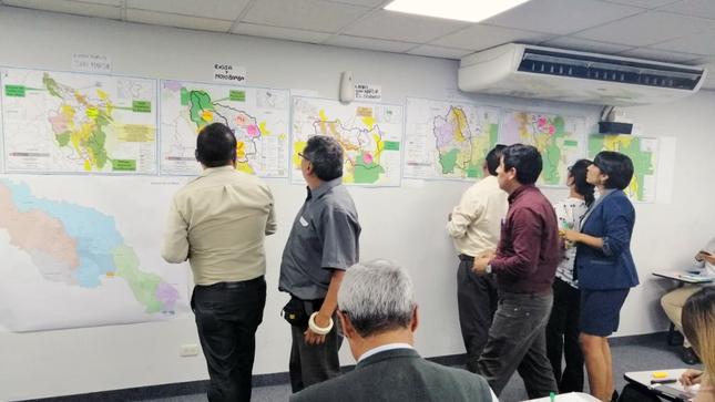 Minam y Minagri articulan acciones en Ucayali y San Martín