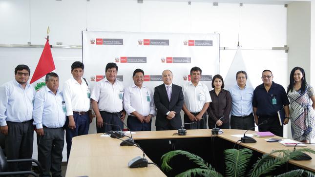 Ministerio de Trabajo impulsa articulación con Red de Municipalidades Urbanas y Rurales del Perú