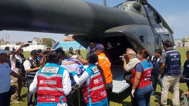 Ministra de Salud traslada a Lima a siete heridos graves de  bus siniestrado en Huacho