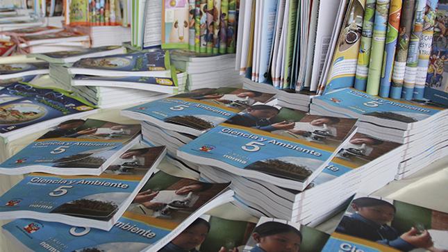Minedu forma comisión de alto nivel para revisar los textos escolares