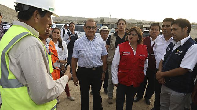 """Ministra Zulema Tomás: """"Construcción del nuevo Hospital de Huarmey comenzará en noviembre próximo"""""""