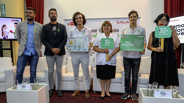 """Ministerio de Salud lanza campaña """"Historias que salvan vidas"""" para promover la donación de órganos"""