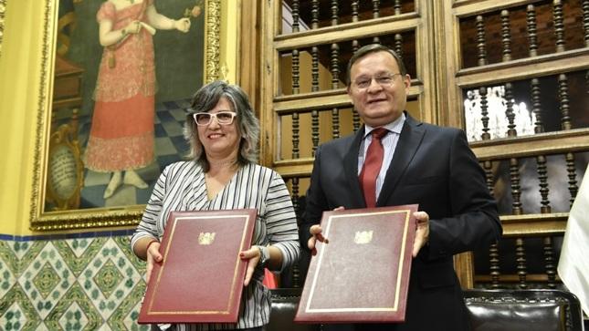 Entrega oficial de bienes culturales entre el Ministerio de Relaciones Exteriores y el Ministerio de Cultura
