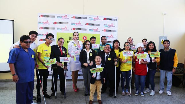 """El Conadis presenta la campaña de sensibilización  """"DÍGALO CON RESPETO, PERSONA CON DISCAPACIDAD"""""""