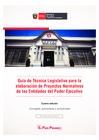 Ver informe Guía Técnica Legislativa para la elaboración de Proyectos Normativos de las Entidades del Poder Ejecutivo