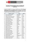 Ver informe Lista de seleccionados para el XII Curso de Intérpretes y Traductores Indígenas