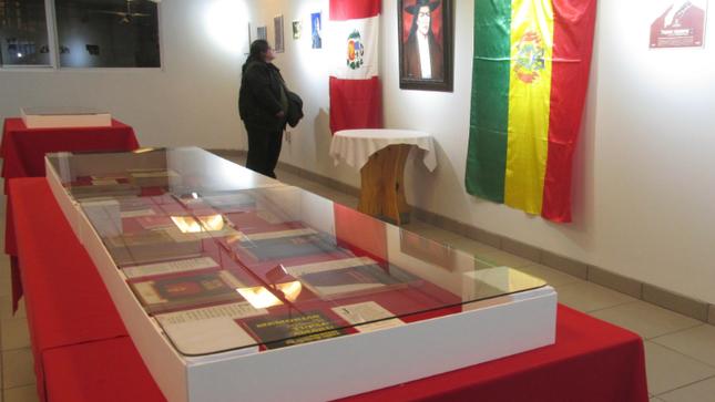 Muestra dedicada a Túpac Amaru se exhibió en la ciudad de El Alto