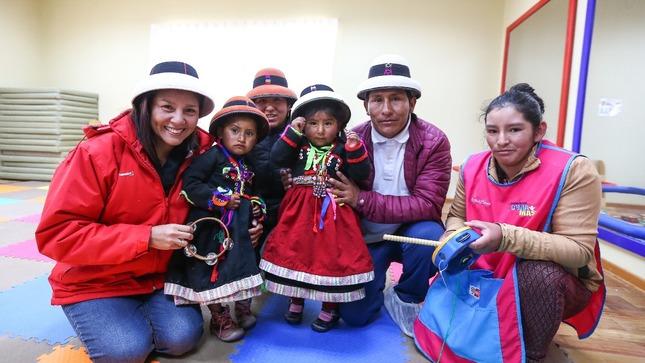 Comunidad de Fuerabamba en Cotabambas, Apurímac cuenta con servicio Cuna Más en favor de niños entre los 6 y 36 meses