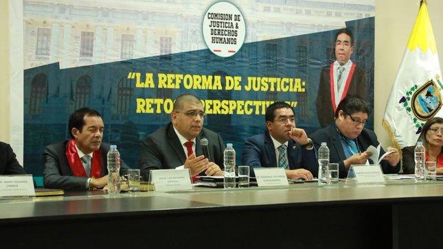 Viceministro de Justicia destaca esfuerzos del Ejecutivo para una efectiva Reforma del Sistema de Justicia